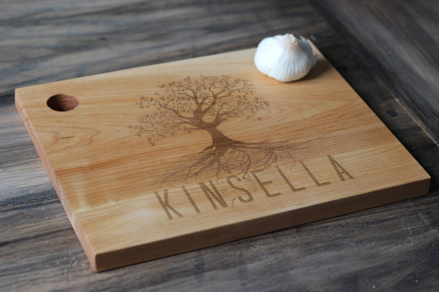 Personalized family tree cutting board pcb co