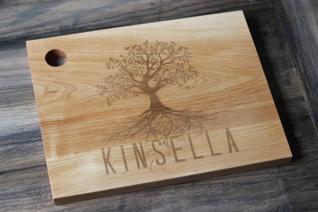 Personalized Family Tree Cutting Board   PCB CO.