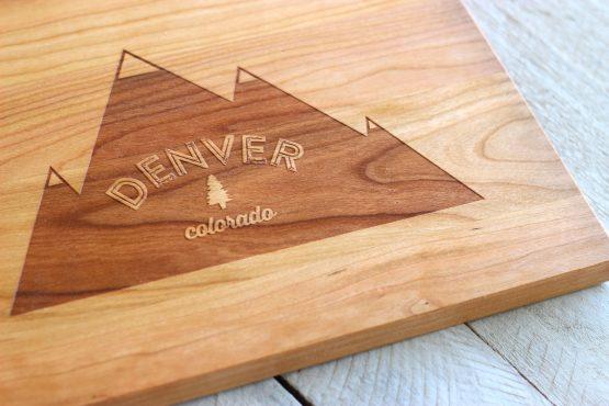 denver-colorado-cutting-board