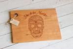 dia de los muertos cutting board